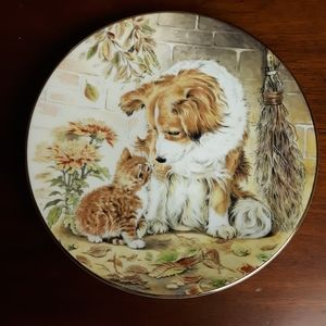 "Royal worcester crown ware england ""puppy pals"""